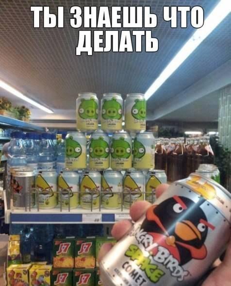 смешной Angry Birds