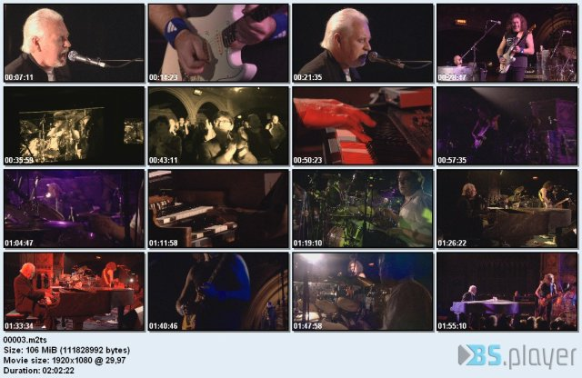 Procol Harum - Live At The Union Chapel (2004) Blu-Ray 1080i