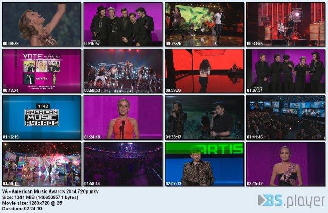 VA - American Music Awards (2014) HDTVRip 720p