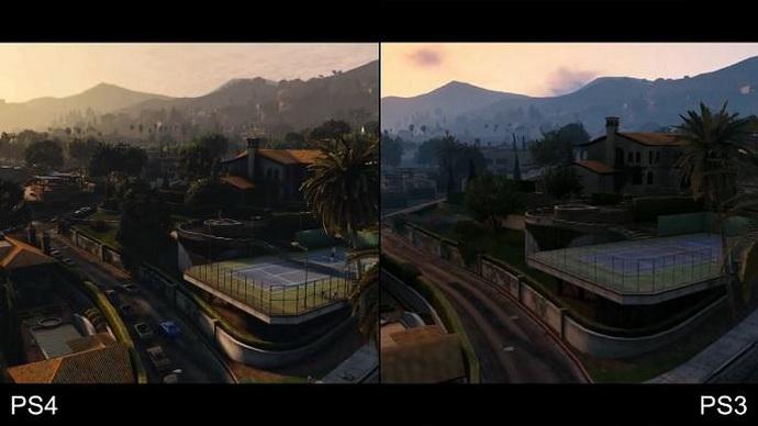 Сравниваем графику в GTA V для PS3 и PS4