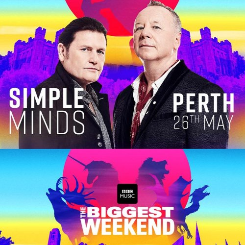 Simple Minds - The Biggest Weekend BBC (2018) HDTV