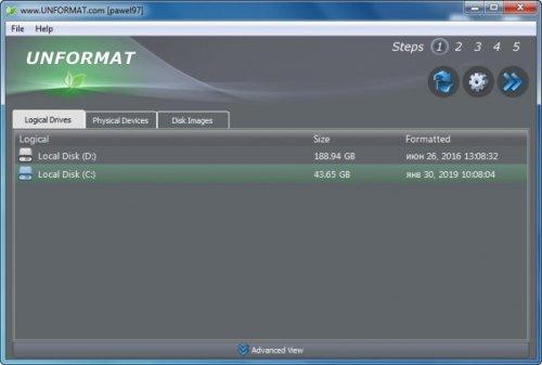 Unformat Pro 8.0.0