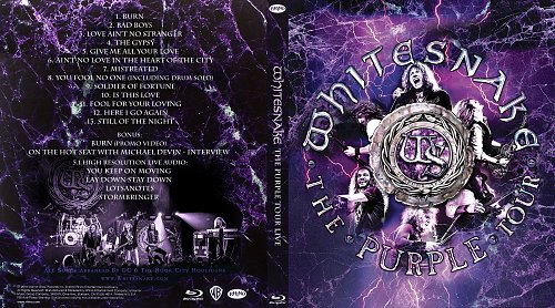 Whitesnake - The Purple Tour (2018) Blu-Ray 1080i
