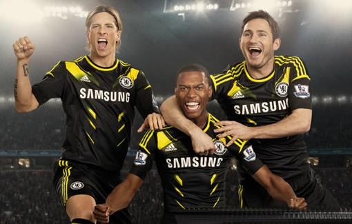 Uniform of Chelsea FC 2012/2013; выиездная форма Челси ФК 2012/2013