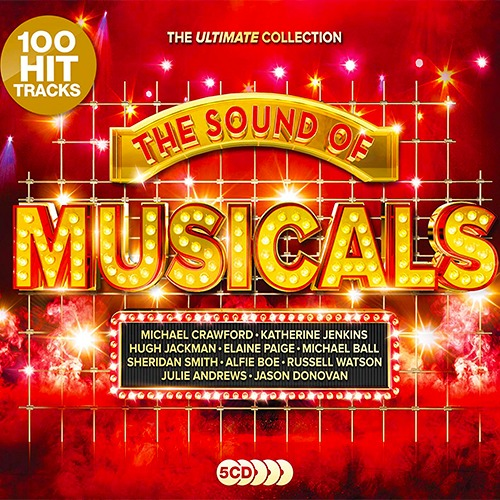The Sound Of Musicals The Ultimate Collection 5CD (2019)