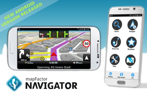 MapFactor GPS Navigation Maps v4.0.109 Premium [Android]