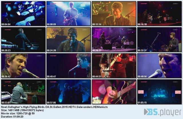 Noel Gallagher's High Flying Birds - OA St.Gallen