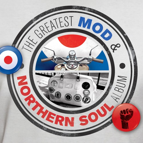 THE GREATEST MOD AND NORTHERN SOUL ALBUM 4CD (2018)