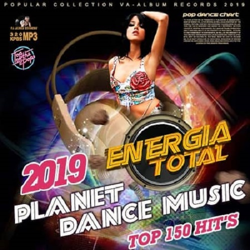 Planet Dance Music Euromix Energia Total (2019)