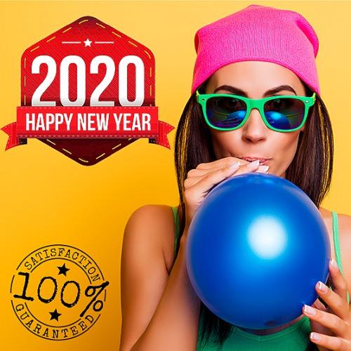 Happy New Year Illustration (2020)