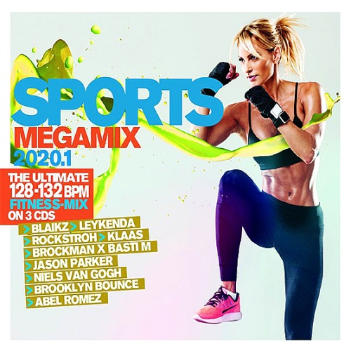 Sports Megamix 2020.1 Your Workout Favourites Box-Set (2020)