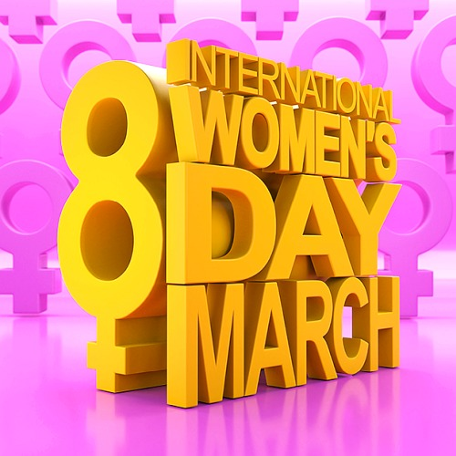 International Womens Day 8 March (2020)