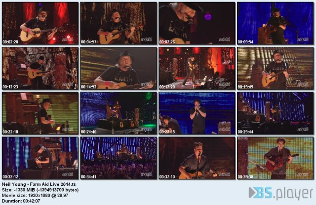 Neil Young - Farm Aid Live (2014) HDTV