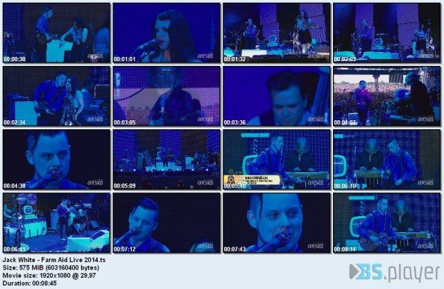 Jack White – Farm Aid Live (2014) HDTV 1080i