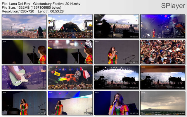 Lana Del Rey - Glastonbury Festival (2014) HD 720p