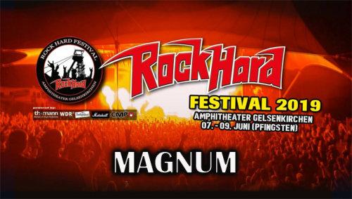 Magnum - Rock Hard Festival (2019) HDTV