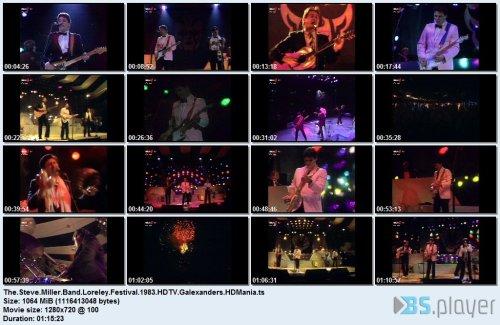 The Steve Miller Band - Loreley Festival'83 (2020) HDTV