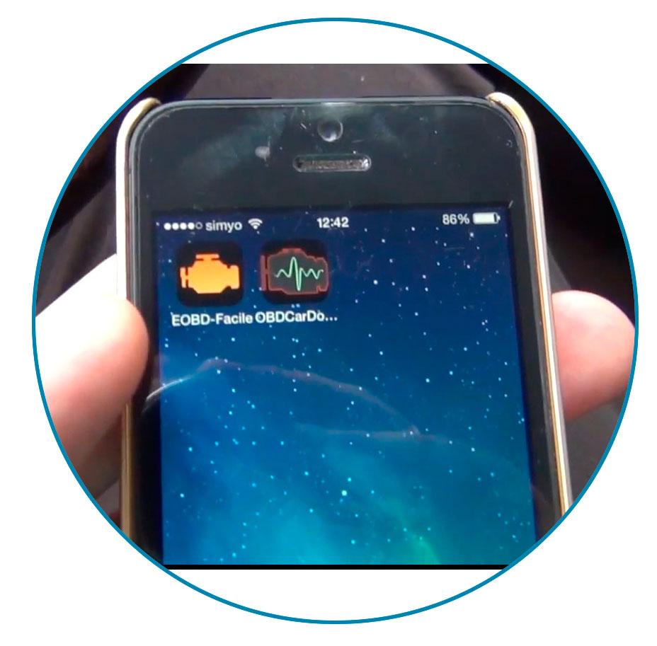 через Wi-Fi подключаем к сканеру своё мобильное устройство