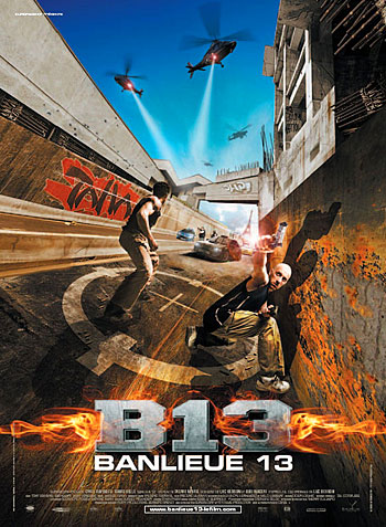13-й район / Banlieue 13 (2004) BDRip-AVC