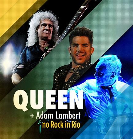 Queen + Adam Lambert - Rock In Rio Brasil