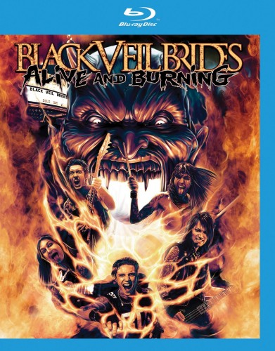 Black Veil Brides - Alive And Burning (2015) Blu-Ray 1080p