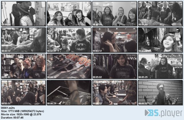 Black Veil Brides - Alive And Burning (2015) Blu-Ray 1080p
