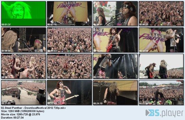 Steel Panther - British Invasion (2012) BDRip 720p