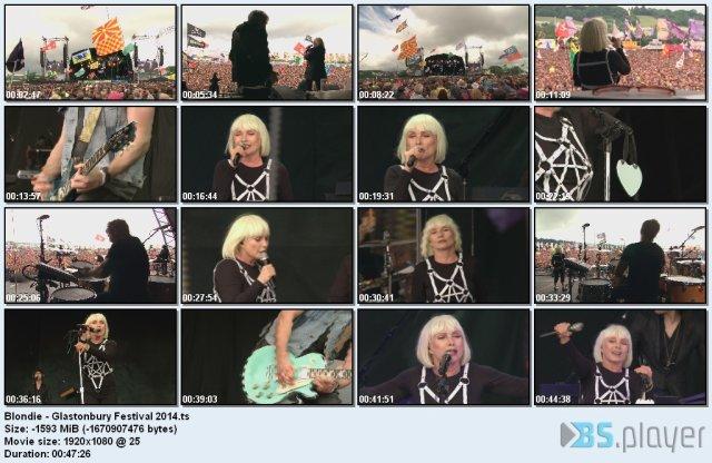 Blondie - Glastonbury Festival (2014) HDTV