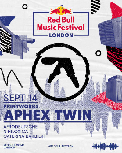 Aphex Twin - Redbull Music Festival (2019) HD 1080p