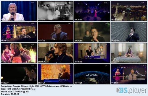 Eurovision - Europe Shine A Light (2020) HDTV