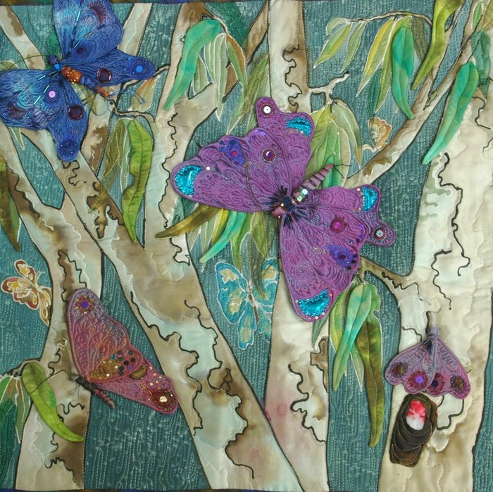 Бабочки из разных материалов своими руками 88