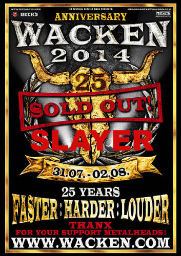 Slayer - Wacken Open Air (2014) HDTV
