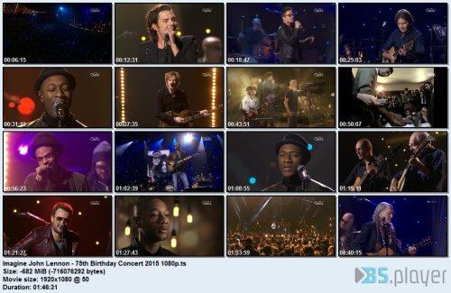 VA - Imagine:John Lennon 75th Birthday Concert (2015) HDTV