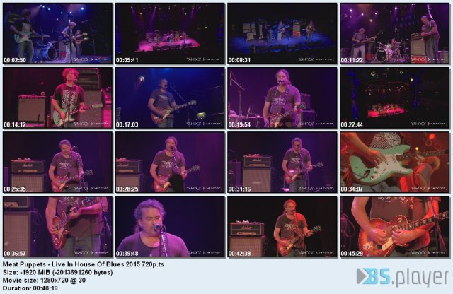 Meat Puppets - Live In House Of Blues