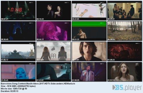 eurovisionsongcontestmusikvideos2017hdtv
