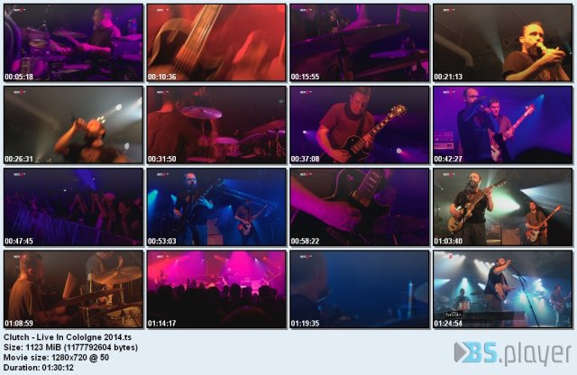 Clutch - Live In Cologne (2014) HDTV