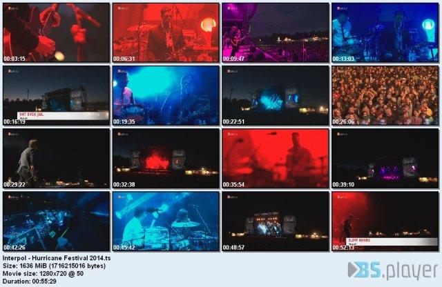 Interpol - Hurricane Festival (2014) HDTV