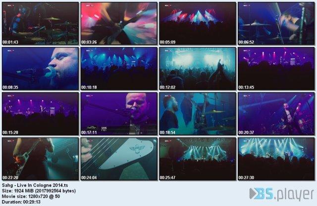 Sahg - Live In Cologne (2014) HDTV