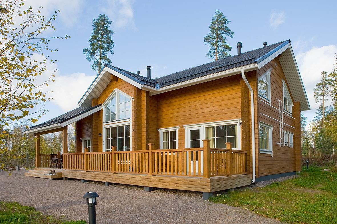 коттеджи в аренду недалеко от границы Финляндии на берегу озера Сайма Лэйксайд