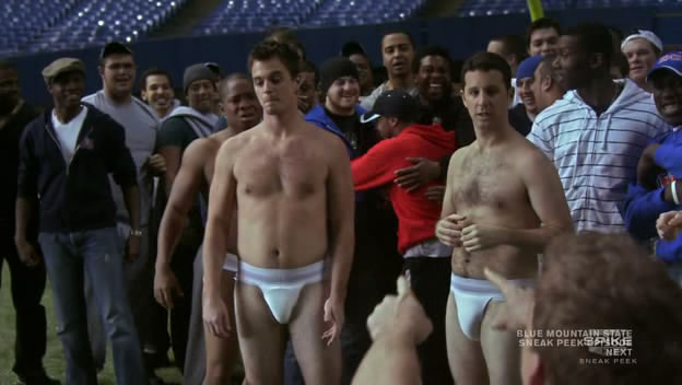 Блю Маунтин Стэйт / Blue Mountain State 2010 г., HDTVRip - 1 сезон (13 серий)