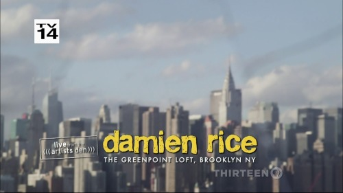 Damien Rice - Live From The Artists Den (2014) HDTV