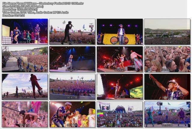 Pharrell Williams - Glastonbury Festival