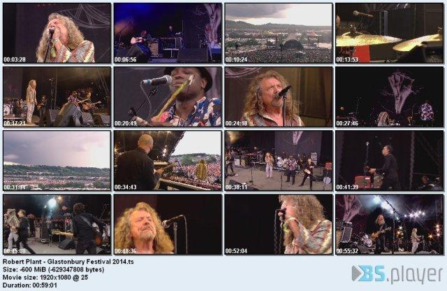 Robert Plant - Glastonbury Festival (2014) HDTV