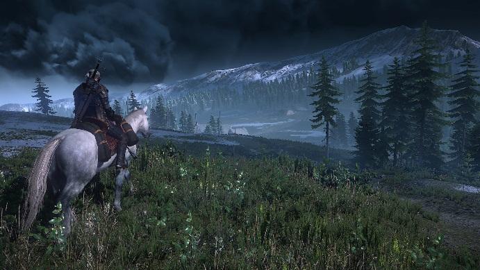 Снимок экрана анонсируемой игры Ведьмак 3: Дикая охота