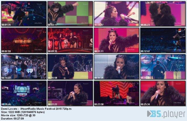 Demi Lovato - iHeartRadio Music Festival
