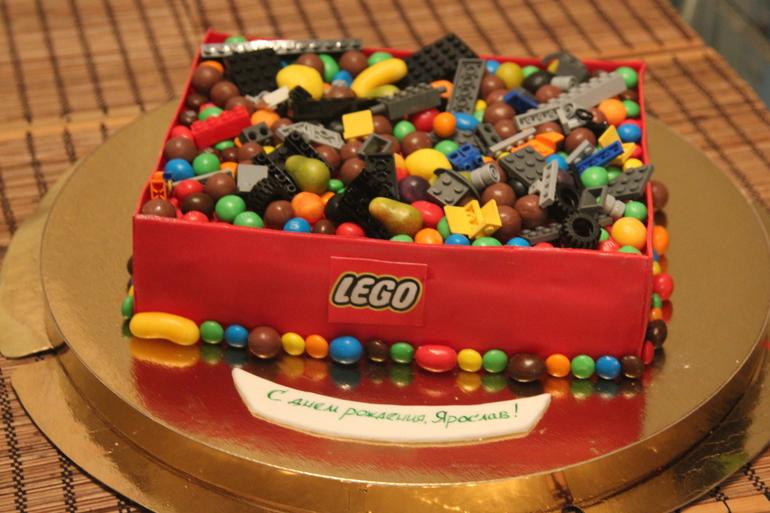 Торт лего без мастики фото