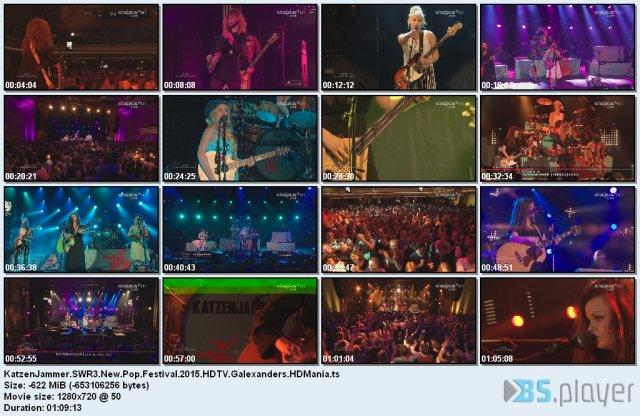 KatzenJammer - SWR3 New Pop Festival