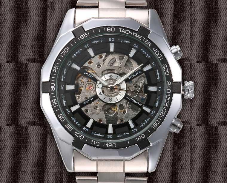 часы мужские скелетоны недорого