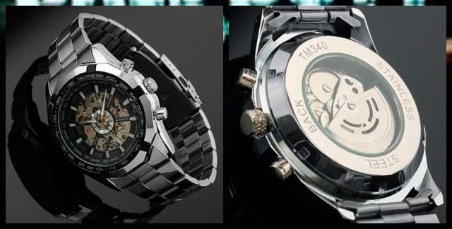 часы скелетоны механические мужские