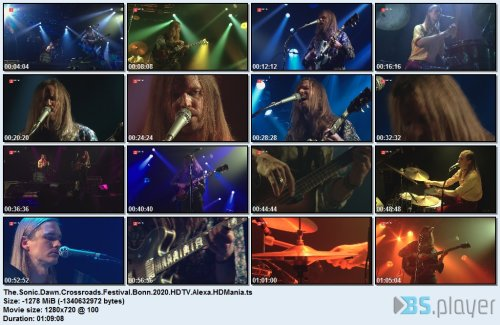The Sonic Dawn - Crossroads Festival Bonn (2020) HDTV